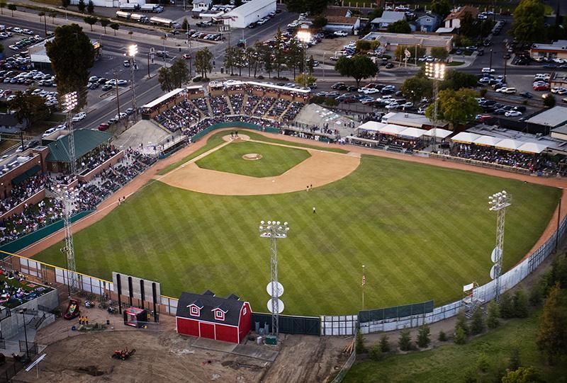 Visalia Rawhide Baseball Recreation Park